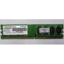 Модуль оперативной памяти 4Gb DDR2 Patriot PSD24G8002 pc-6400 (800MHz)  (Люберцы)