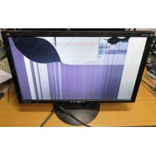 "Монитор 24"" TFT ViewSonic VA2413WM (разбита матрица) - Люберцы"
