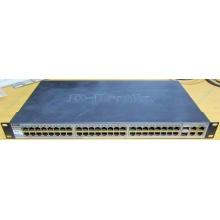 Управляемый коммутатор D-link DES-1210-52 48 port 10/100Mbit + 4 port 1Gbit + 2 port SFP металлический корпус (Люберцы)