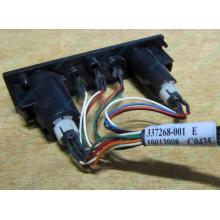 HP 224998-001 в Люберцах, кнопка включения питания HP 224998-001 с кабелем для сервера HP ML370 G4 (Люберцы)