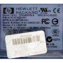 Блок питания 575W HP DPS-600PB B ESP135 406393-001 321632-001 367238-001 338022-001 (Люберцы)
