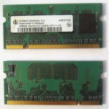 Модуль памяти для ноутбуков 256MB DDR2 SODIMM PC3200 (Люберцы)